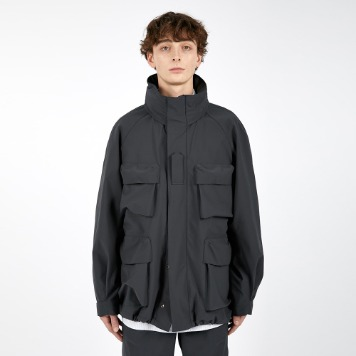 AFTER PRAYMomentum Military Shell Parka(Charcoal)