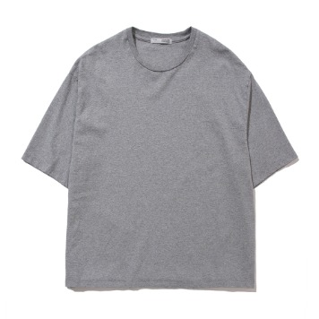 POTTERYShort Sleeve Comfort T-ShirtFine Cotton 17/1 BD Single Jersey(Light Gray)