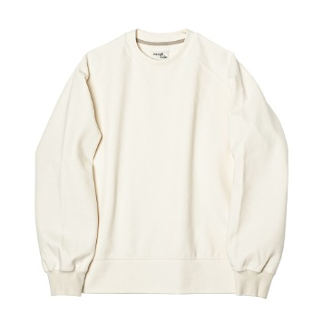 ROUGH SIDERaglan Sweat Shirt(Ivory)
