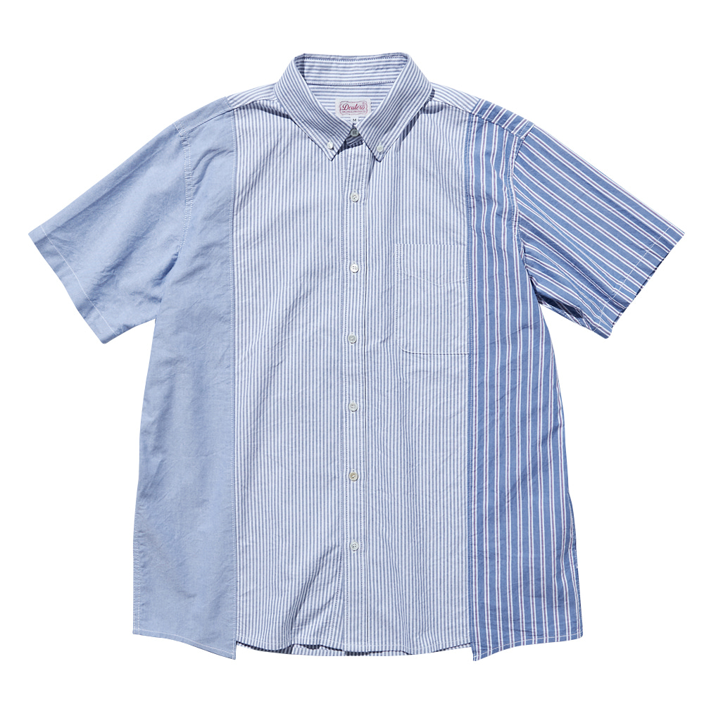 DEUTERODTR1910 Mixed S/S Shirts(Light Steel Blue)