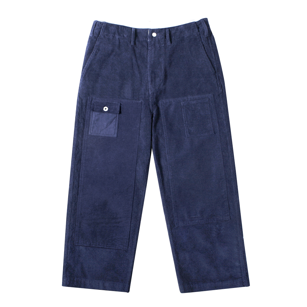 NAMER CLOTHINGCorduroy Utility Pants(Navy)