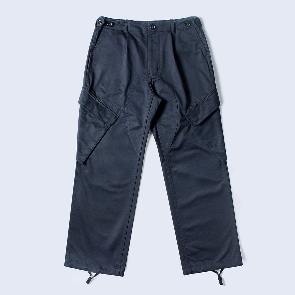 NAMER CLOTHINGR.N Cotton Trouser(Navy)