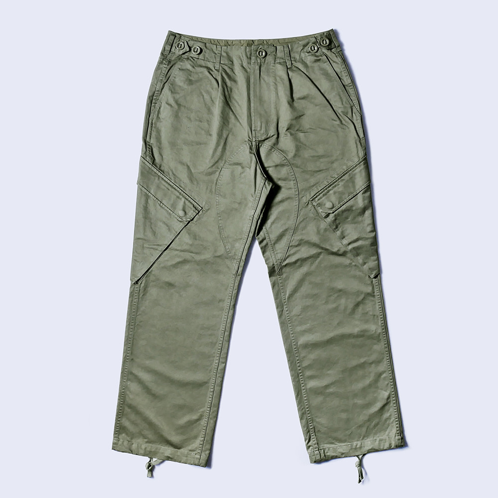 NAMER CLOTHINGR.N Cotton Trouser(Olive)
