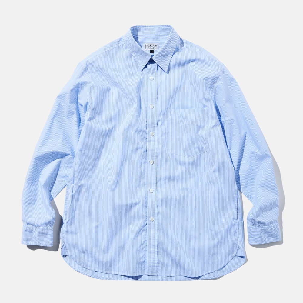 DEUTERODTR1933 90s My Heyday L/S Shirts(Blue)