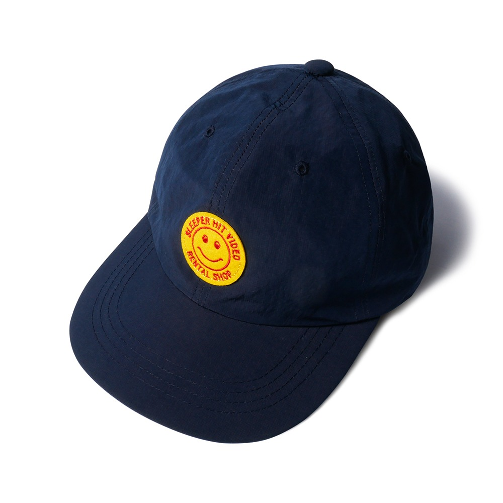 SLEEPER HIT VIDEOS.H.V. Smiley Cap(Navy)