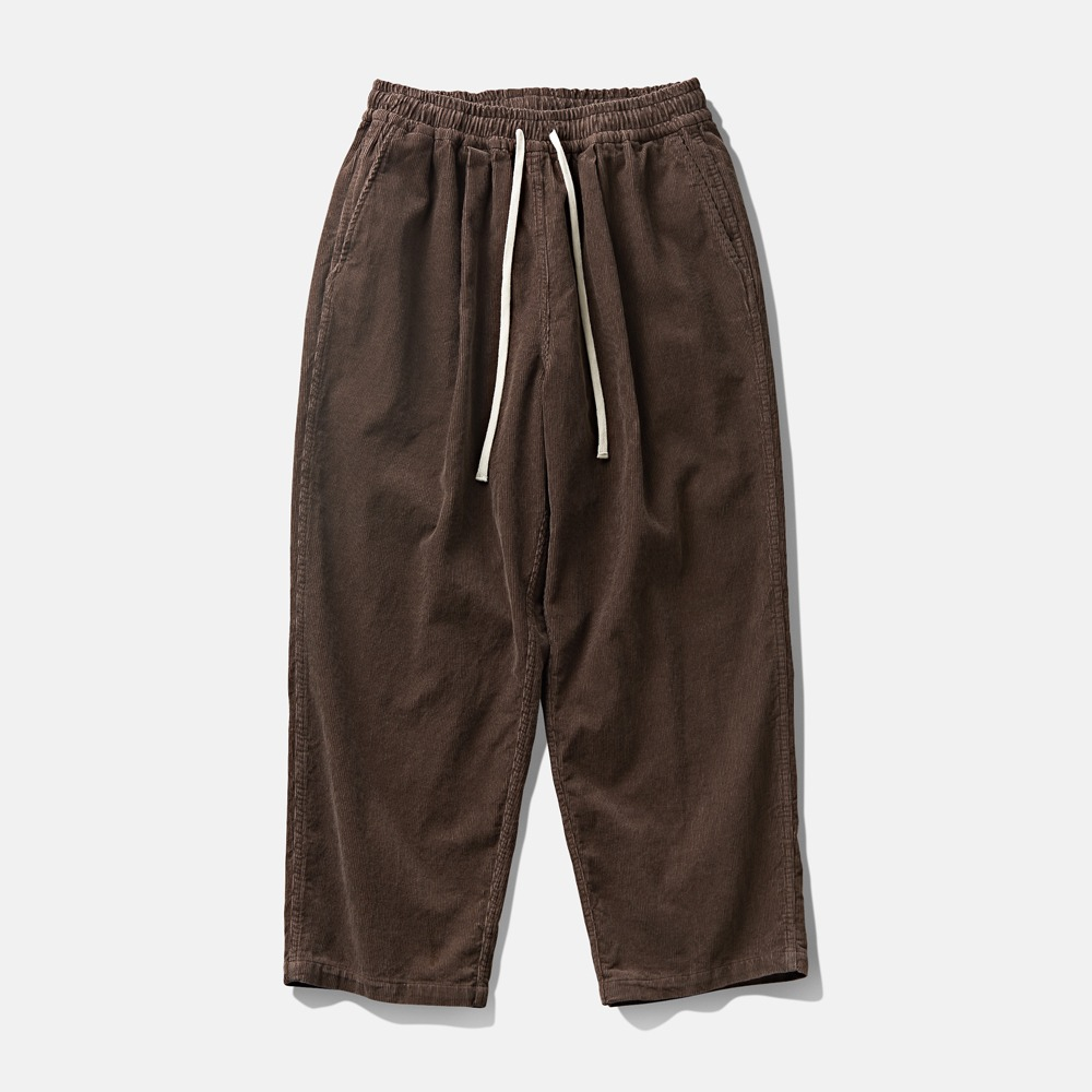DEUTERODTR1955 Corduroy Wide Pants(Brown)