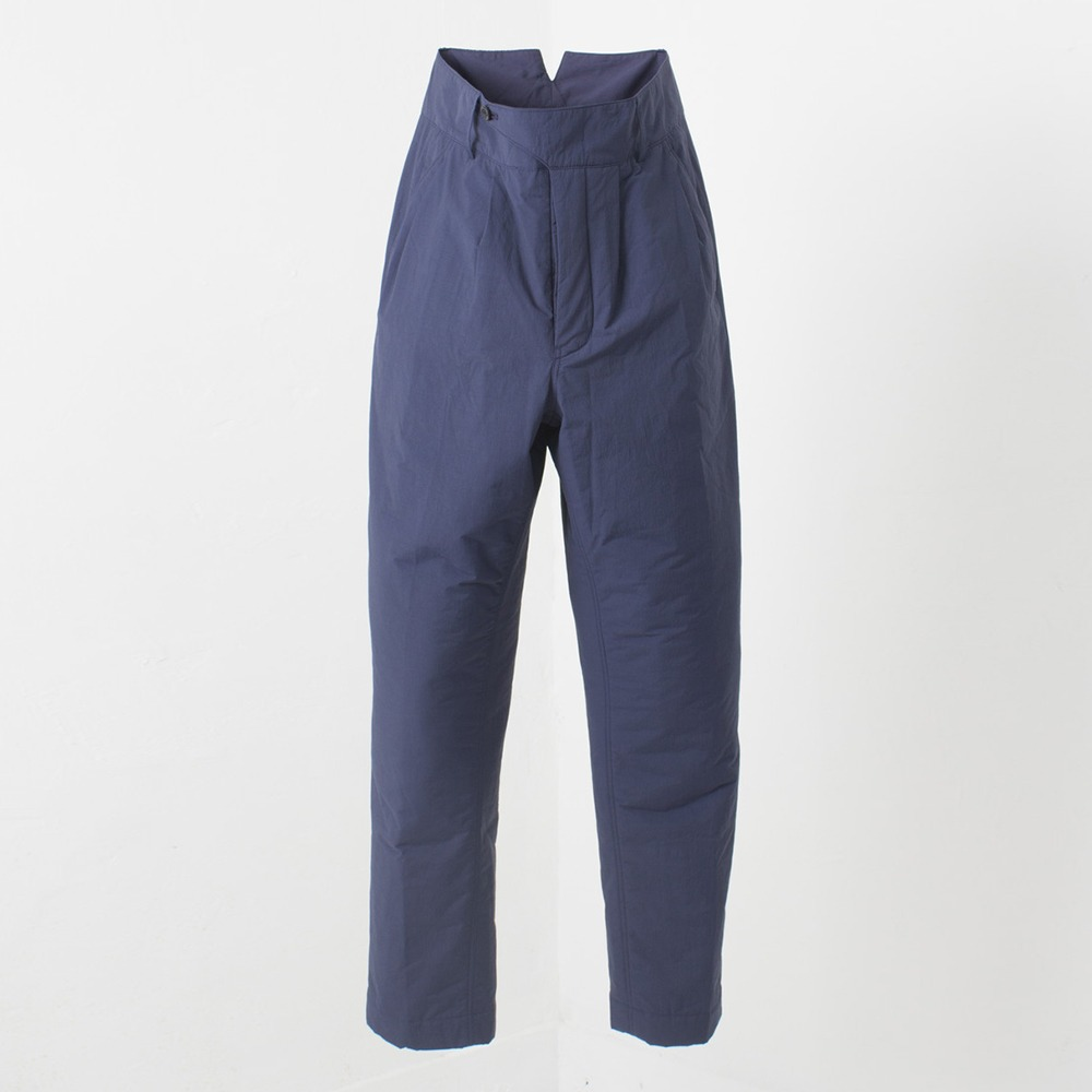 DOCUMENTThin Padded Trousers(Navy)