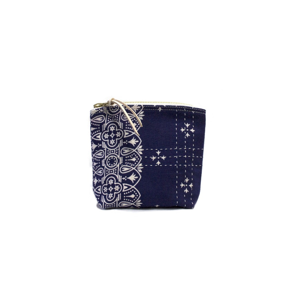 CACTUS SEWING CLUBUtility Pouch Size 01(Navy)