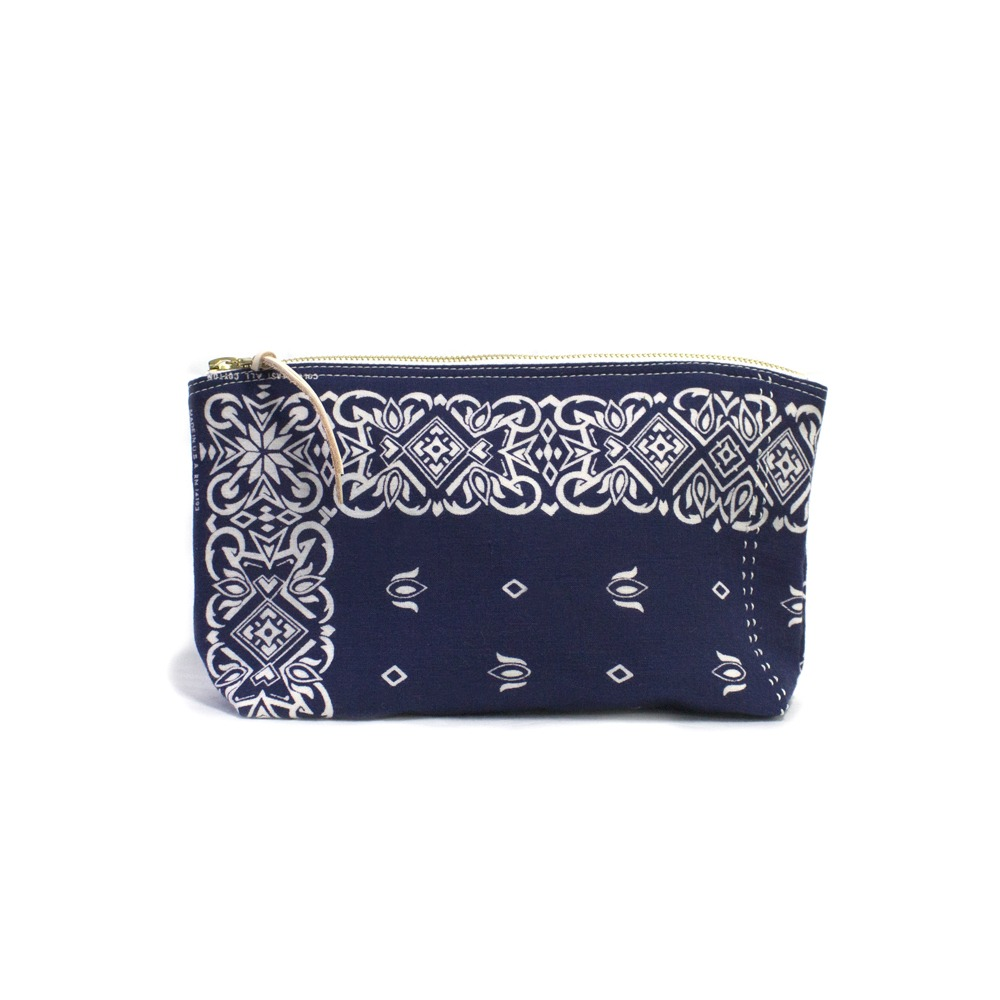 CACTUS SEWING CLUBUtility Pouch Size 02(Navy)