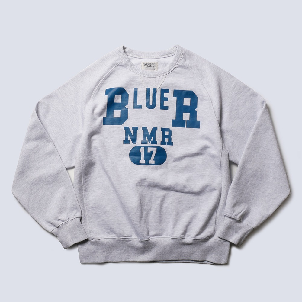 NAMER CLOTHINGBLUER NMR Sweatshirts(Oatmeal)