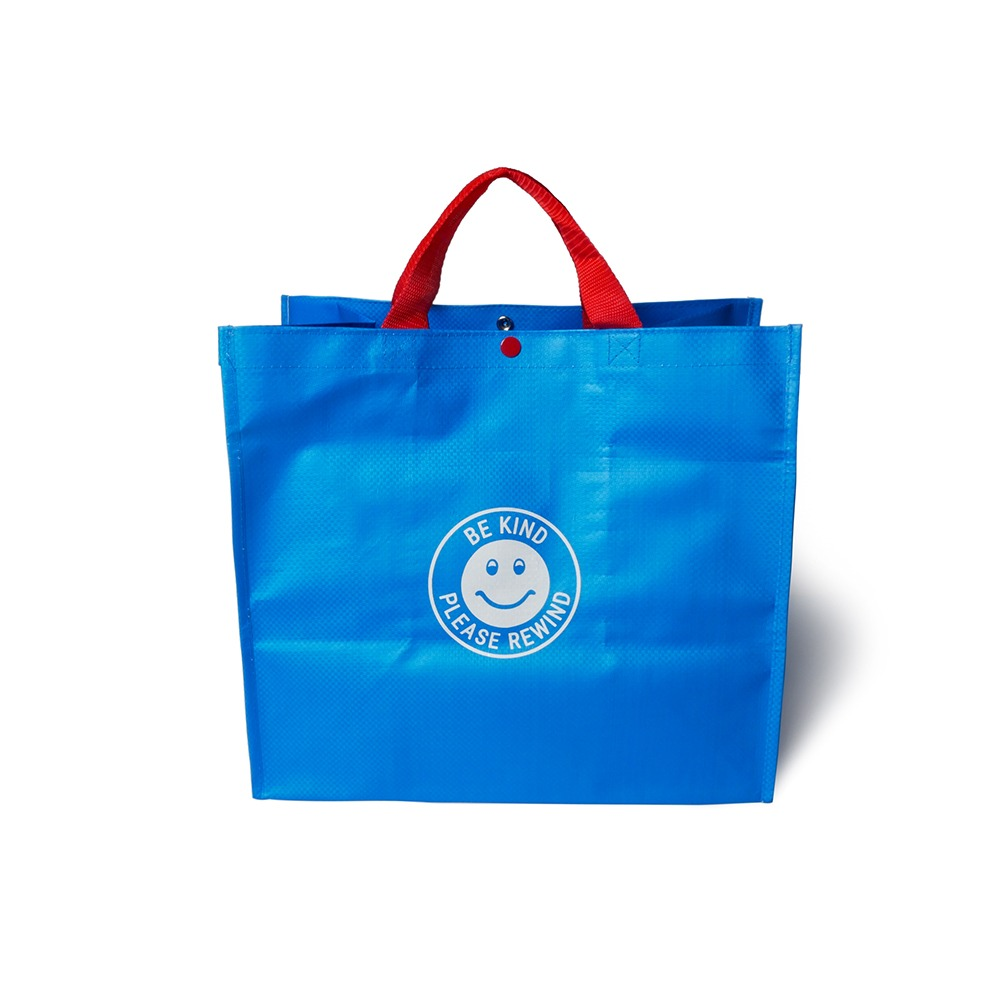 SLEEPER HIT VIDEOS.H.V. Tarpaulin Bag(Blue)