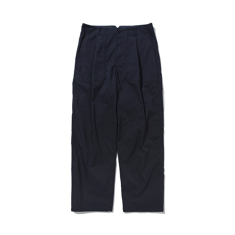 POTTERYOne-Pleated Fatigue Pants(Navy)