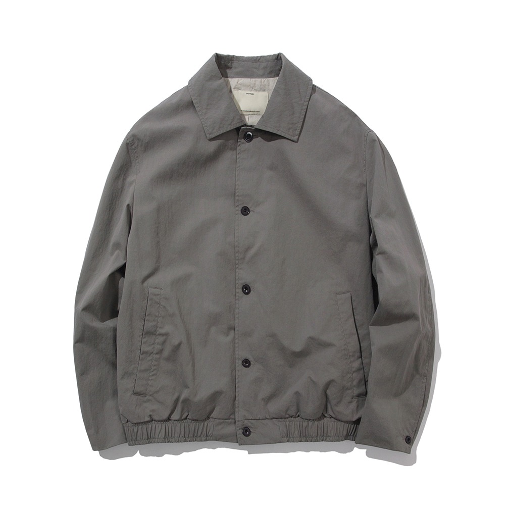 POTTERYCotton Blouson(Steel Grey)