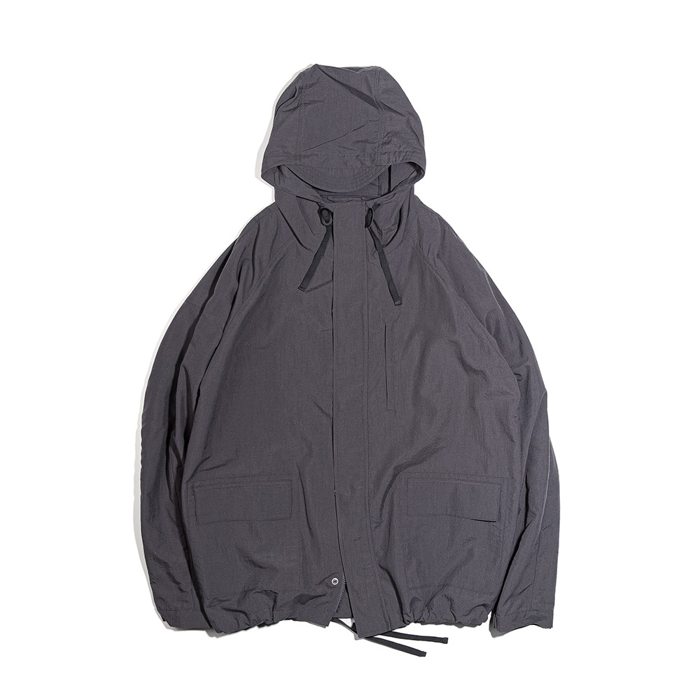 OURSELVESNylon Dyed Mountain Jacket(Charcoal)