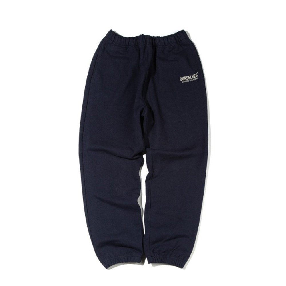 OURSELVESLogo Play Sweat Pants(Navy/Black)