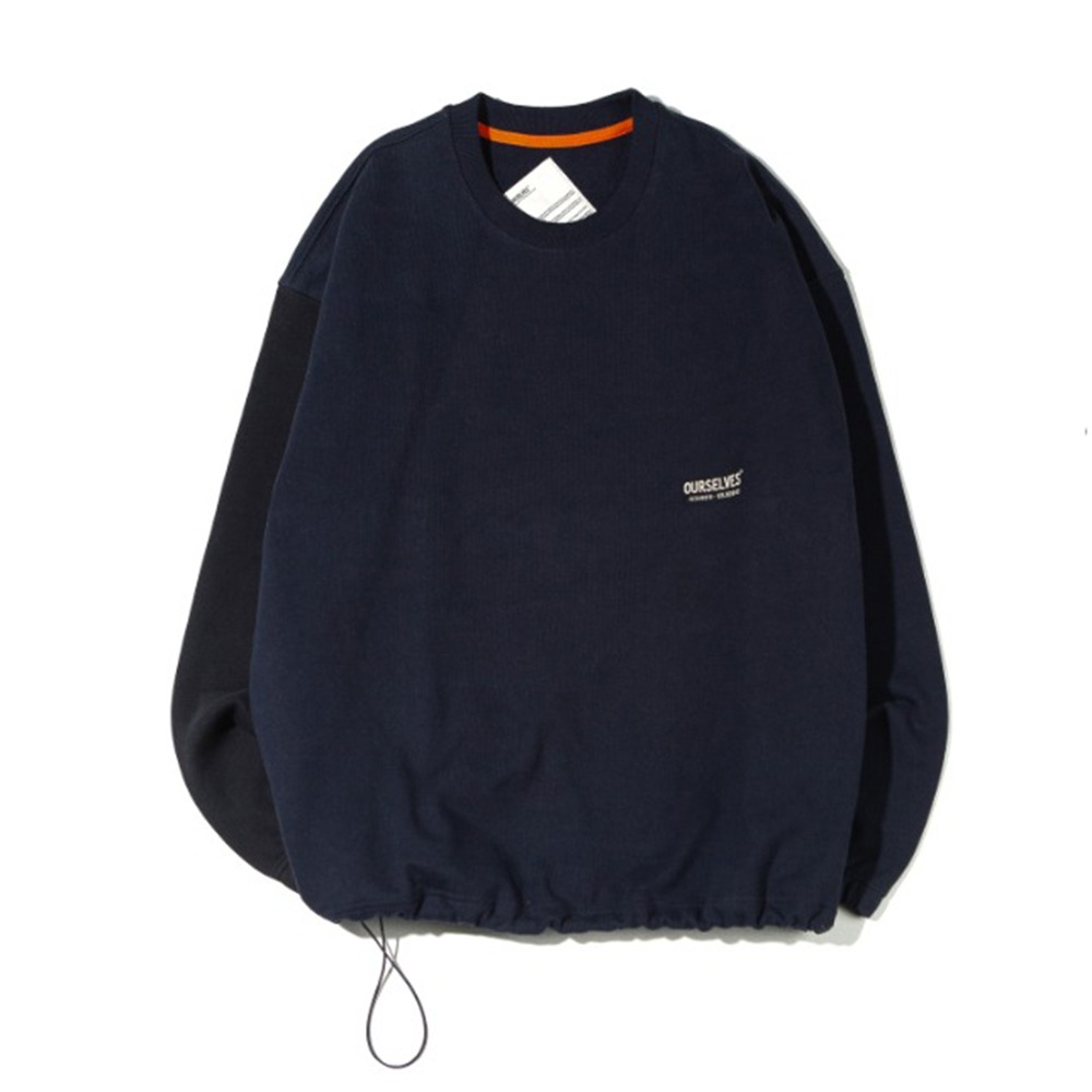 OURSELVESLogo Play Sweat Shirts(Navy/Black)