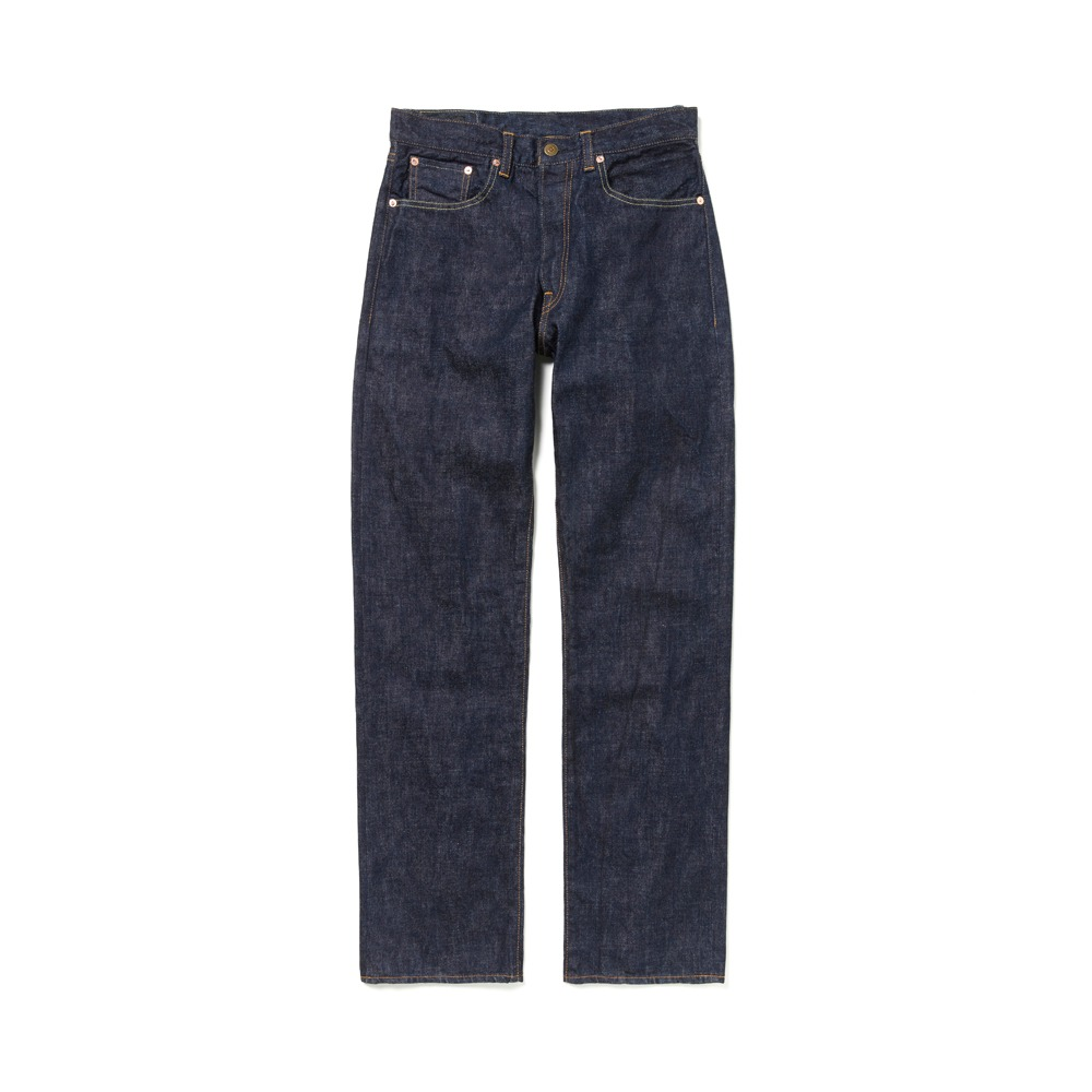 DEMILLOT. 009P 14oz Regular Straight(Indigo)