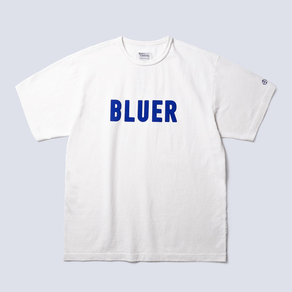NAMER CLOTHINGBluer Team T-Shirts(White)