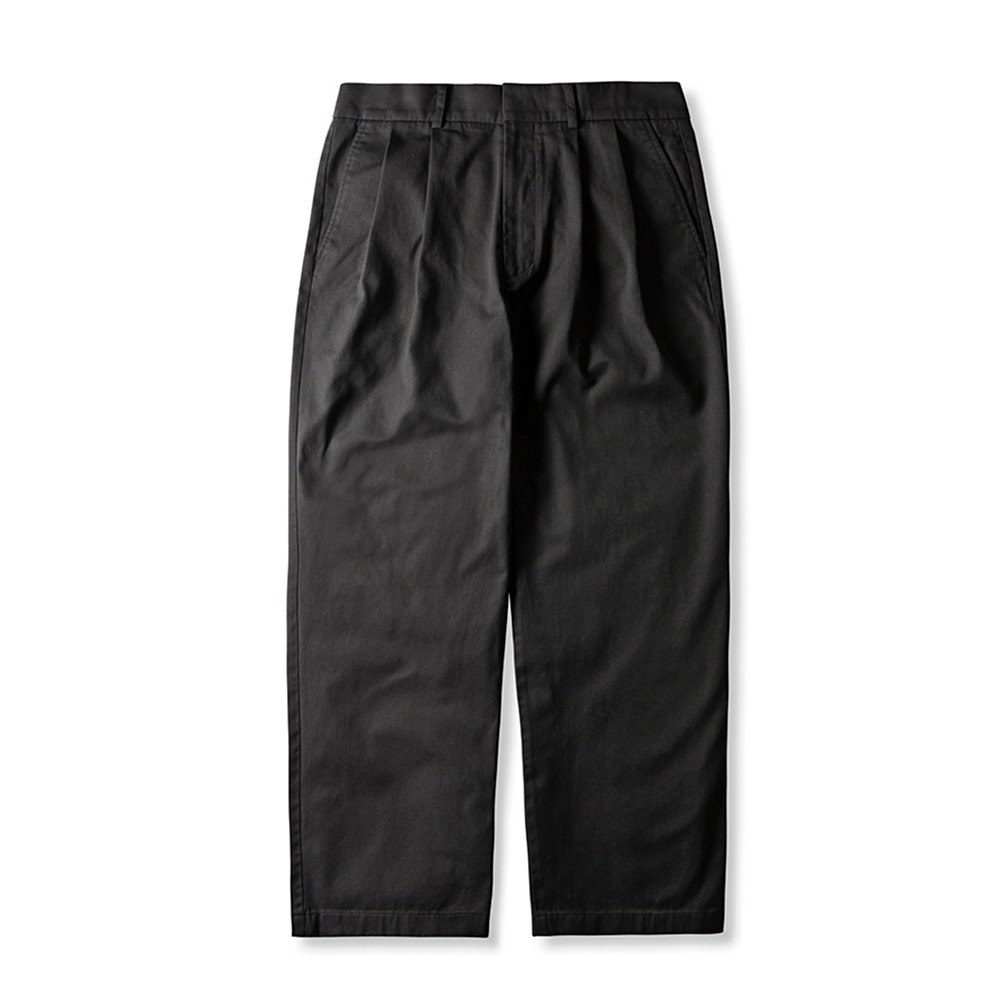 ESFAI2 Tuck Wide C.Pants(Charcoal Gray)