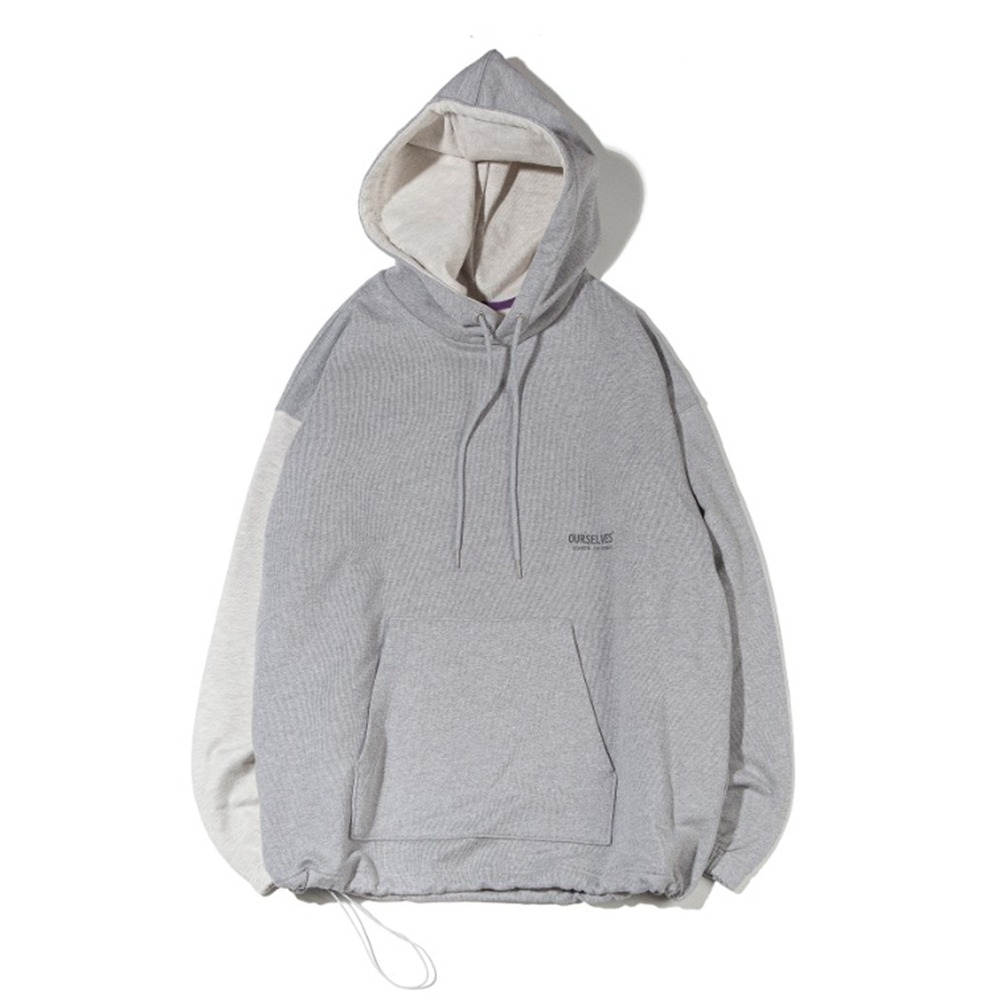 OURSELVESLogo Play Sweat Hoodie(Melange/Oatmeal)