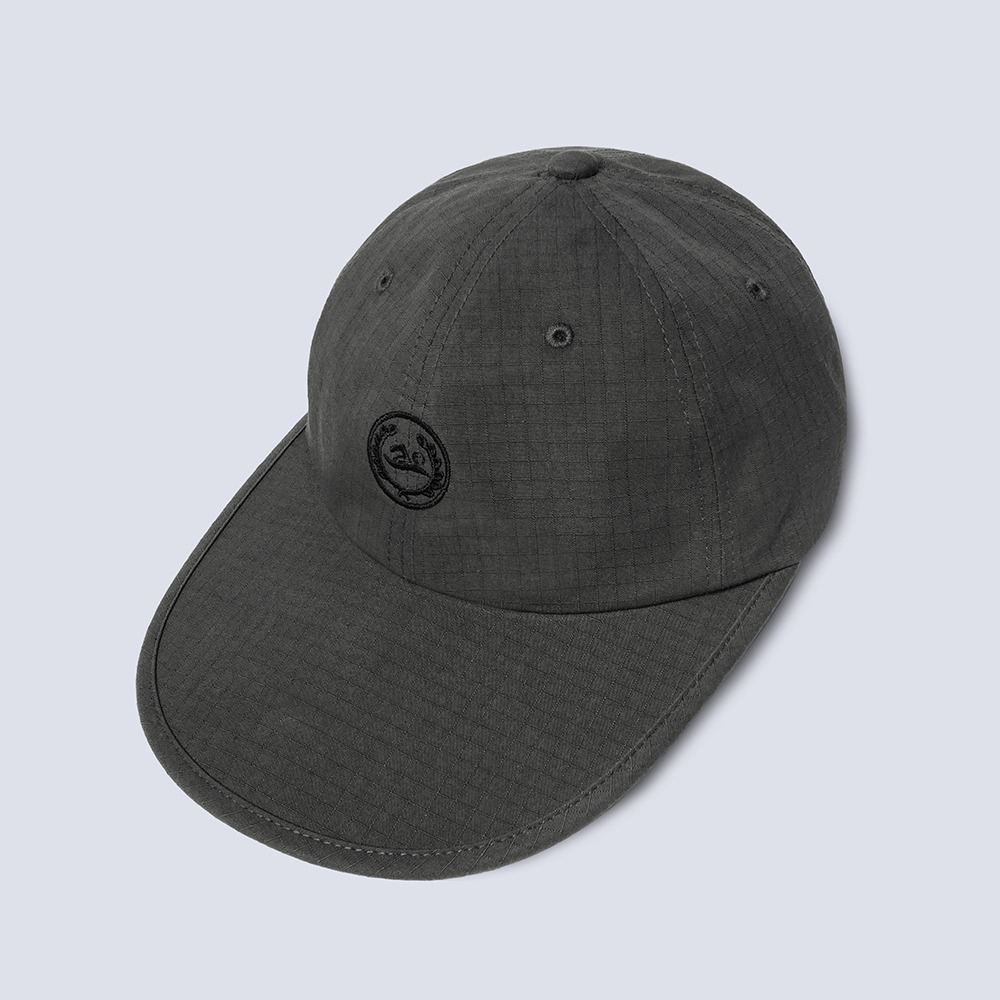 NAMER CLOTHINGC.S.C / 1F 19-13, Seoulsup 2-gil Long Visor Cap(Charcoal)