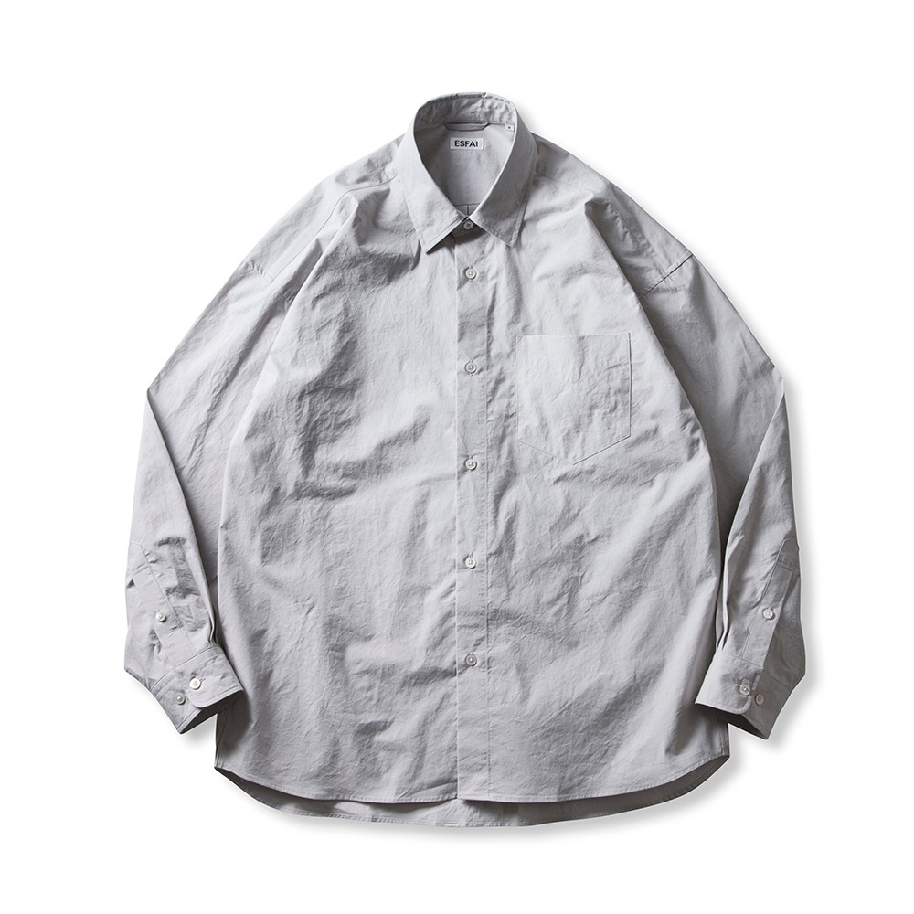 ESFAIOxst Over Shirts(Gray)