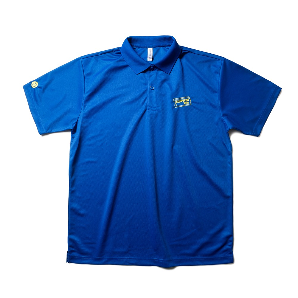 SLEEPER HIT VIDEOS.H.V. Collar T-Shirts(Blue)