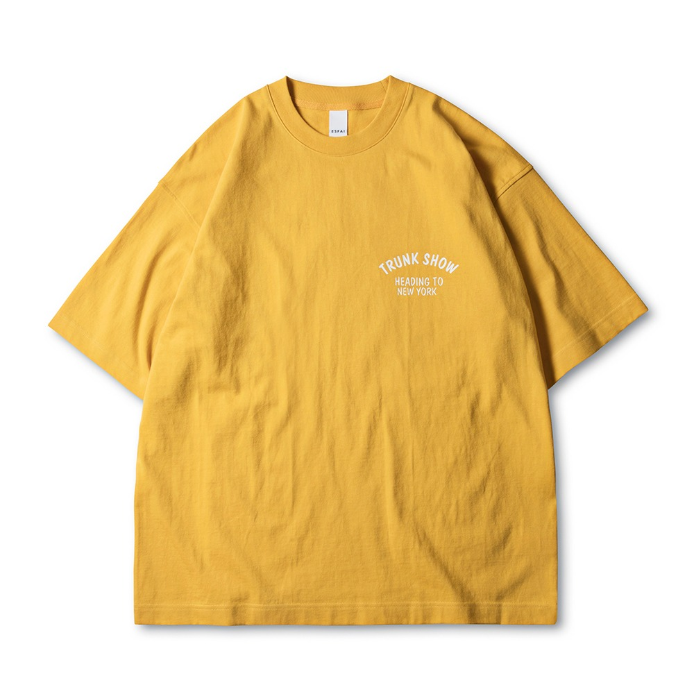 ESFAITrunk ShowHeading To New York T-Shirts(Mustard)