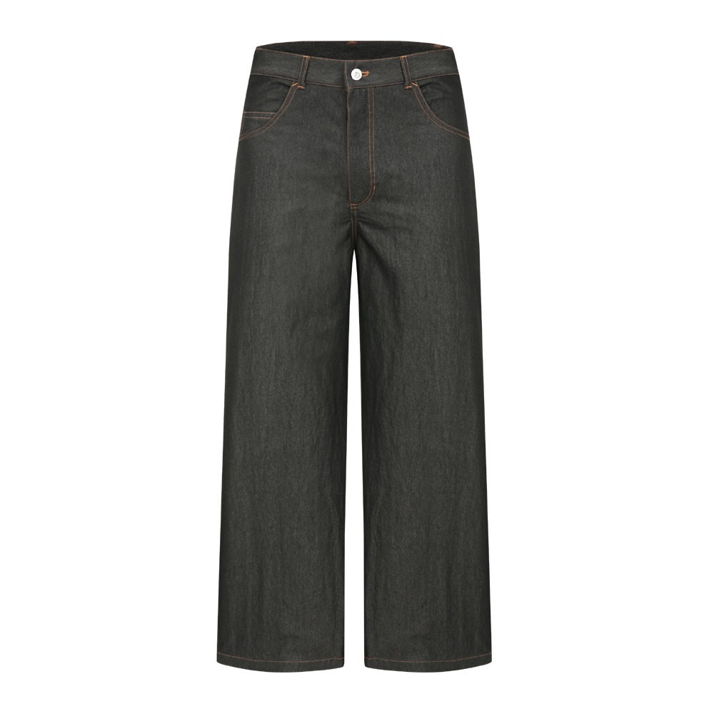 YOUNEEDGARMENTSOne Washed Light Denim Pants(Washed Black)